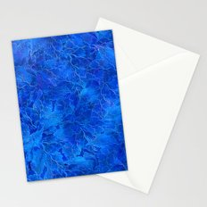 Frozen Leaves 6 Stationery Cards