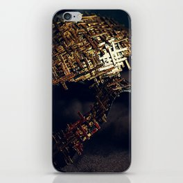 Mirror Mask (2) iPhone Skin