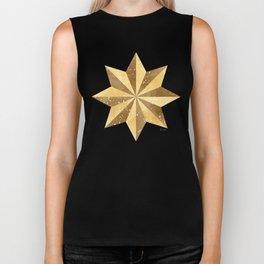 Golden Star Biker Tank
