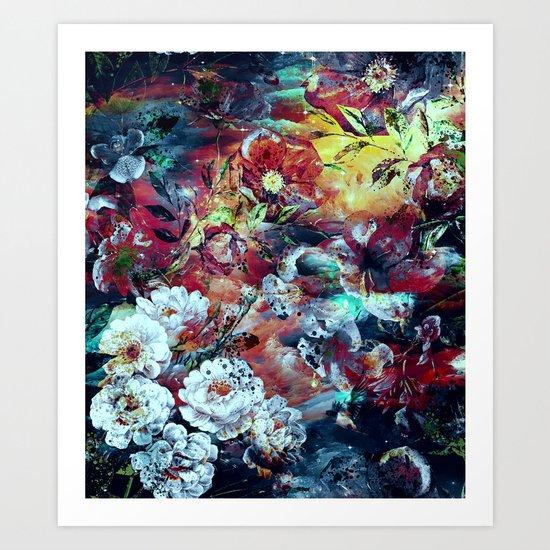 RPE SEAMLESS FLORAL VII Art Print
