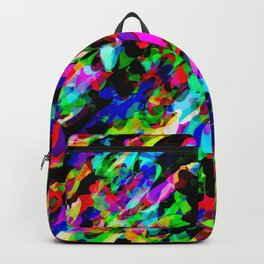 Cartoon Chaos Pattern Backpack