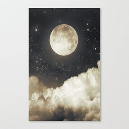 Touch of the moon I Canvas Print