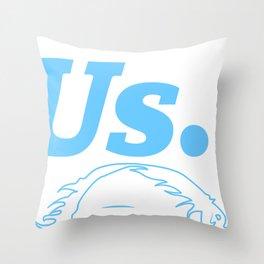 Bernie Sanders - Us. Throw Pillow