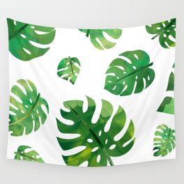 Monstera Plant Wall Tapestry