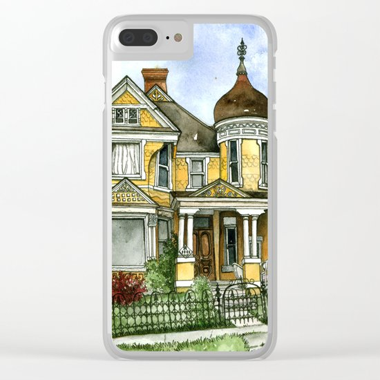 Victorian in The Avenues Clear iPhone Case