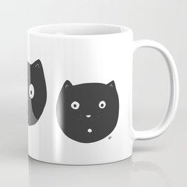 Cat Faces Coffee Mug