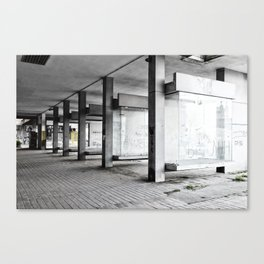Belgrade / Tristesse Canvas Print