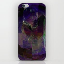 A Slice And Diced Plant Lizard v.1 iPhone Skin