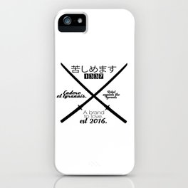 Veks1337 iPhone Case