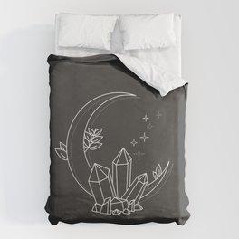 Crystal Moon Duvet Cover