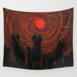 Hyena Sundown Wall Tapestry