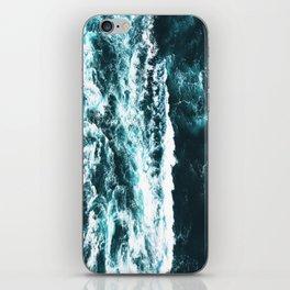 Sea Waves Dark iPhone Skin