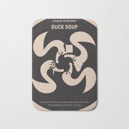 No370 My Duck Soup minimal movie poster Bath Mat