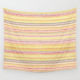 Summer Pattern Wall Tapestry