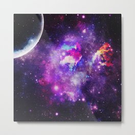Magical universe x Metal Print