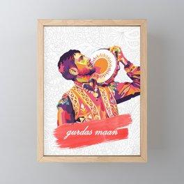 Gurdas Maan Framed Mini Art Print