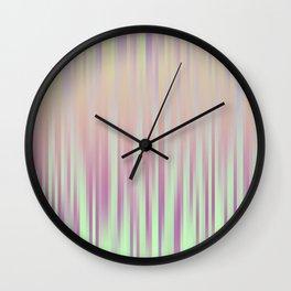 Stripe Pattern V Wall Clock