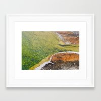 emerald Framed Art Prints featuring Emerald by Cameron Booth