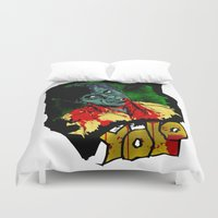 yolo Duvet Covers featuring Yolo COLOUR! by PCRK