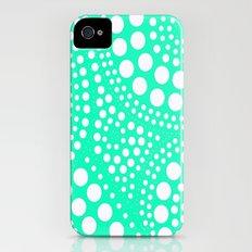 Pattern Aqua iPhone (4, 4s) Slim Case