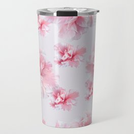 Pink Azalea Flower Dream #1 #floral #pattern #decor #art #society6 Travel Mug