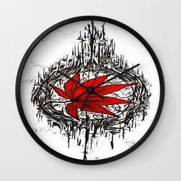 Tribe Maple Wall Clock