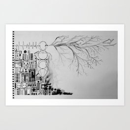Dichotomy Study Art Print