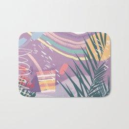 Summer Pastels Bath Mat