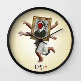 Hot for Nietzsche Wall Clock