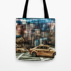 NYC - Yellow Cabs Tote Bag