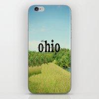 ohio iPhone & iPod Skins featuring Hello Ohio by KimberosePhotography