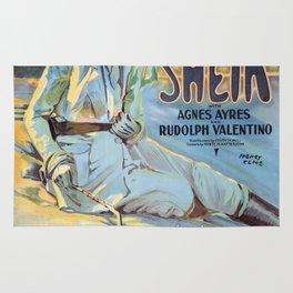 Vintage poster - The Sheik Rug