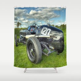 GN Instone Special  Vintage Racing Car Shower Curtain