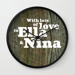 ELLA&NINA Wall Clock