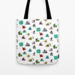 Crow on the Go Tote Bag