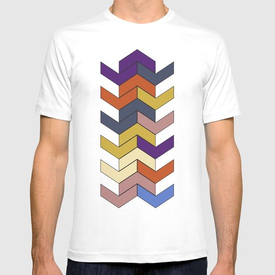 Geometric Chevrons T-shirt
