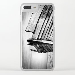 An old wreck Clear iPhone Case