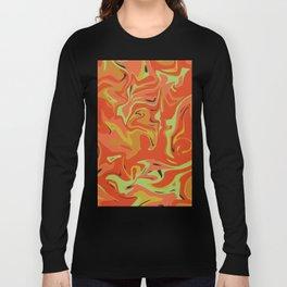 Papaya Juice Long Sleeve T-shirt