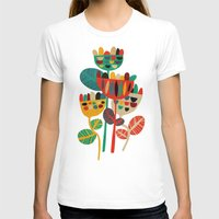 leaves T-shirts featuring Wild Flowers by Picomodi