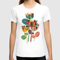 budi T-shirts featuring Wild Flowers by Picomodi