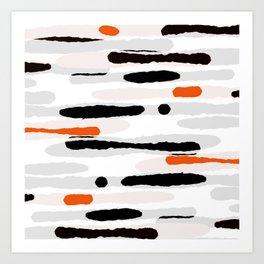 Camouflage II Art Print
