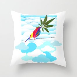Elevate Your Vibe Throw Pillow