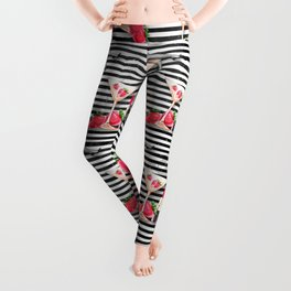 Ladies Party Pattern 10 Leggings