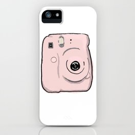 Pink Instax Camera iPhone Case