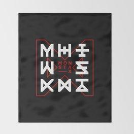 Monsta X -The Code Throw Blanket