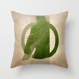 Avengers Assembled: The Beast Throw Pillow