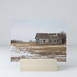 Old Prairie Farm Mini Art Print