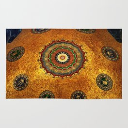 Gold Dome Rug