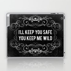 KEEP YOU WILD Laptop & iPad Skin