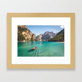 Mountain Adventures Framed Art Print